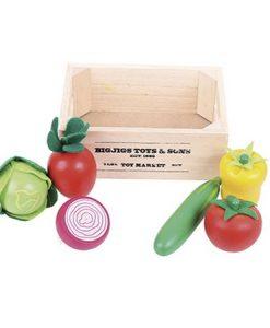 Caja de ensaladas