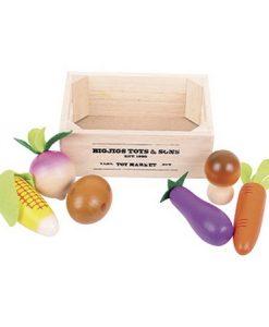 Caja de vegetales