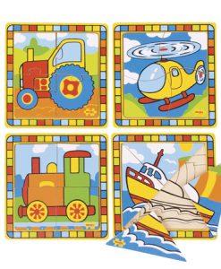 Puzzle de transportes I