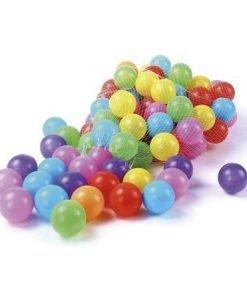 Set de 100 pelotas plásticas